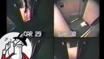 41 hodín strávených vo výťahu zachytené bezpečnostnou kamerou