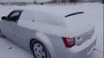 Ako subwooferom omiesť sneh z auta a pripraviť svojho syna o sluch