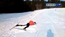 Prvýkrát na bežkách - biathlon
