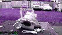Tehla v práčke - 1000 rpm